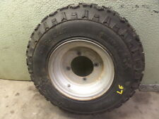 1987 YAMAHA TERRAPRO 350 LEFT FRONT TIRE WHEEL RIM