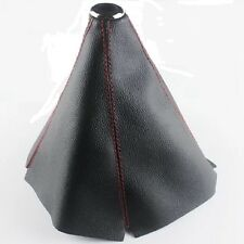 For Lexus Car Red Stitch/JDM Black PVC Leather Manual/Auto Shifter Boot Cover
