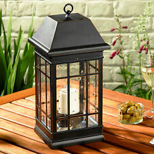 Smart Solar Seville Large Lantern Outdoor & Garden Solar LED Lights Lighting