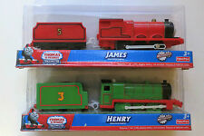 New In Box Thomas & Friends Trackmaster Motorized Engine James Henry Carriage