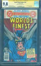 Worlds Finest 258 CGC 9.8 SS Neal Adams Top 1 Dawn of Justice Batman vs Superman
