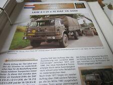 Archiv Militärfahrzeuge schwere Rad Kfz Niederlande 38.1 DAf YA 4440 LKw 4t