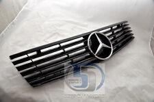 Mercedes Benz R129 SL320 SL500 Grille Grille 90~02 BLACK AMG Front Grille 6 fins