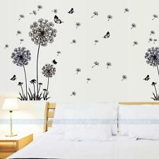 New Dandelion Flower Removable Vinyl Art Quote Wall Sticker Decal DIY Home Decor