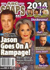 Billy Miller, Constance Towers, Year In Review  Dec. 22, 2014 ABC Soaps In Depth