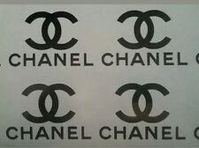chanel vinyl stickers x 12 glass candle laptop stickers 6.5cm LAST LISTING