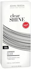 John Frieda Clear Shine Luminous Glaze for All Hair Shades, 6.5 oz