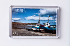 Fridge Magnet Filey, Filey Band Boats
