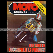 MOTO JOURNAL N°266 YAMAHA RD 400 TOUR DE FRANCE MOTO MARCO LUCCHINELLI 1976