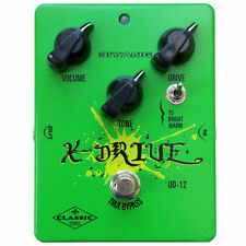 BIYANG OD-12 TRIPLE MODE ANALOG OVERDRIVE CLASSIC SERIES TRUE BYPASS  NEW!