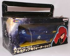 CAPTAIN HARLOCK : ARCADIA BLUE PIRATE SHIP MODEL MADE BY BANPRESTO