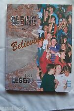 1994 WILLIAM R. BOONE HIGH SCHOOL YEAR BOOK ORLANDO, FLORIDA LEGEND  UNMARKED!