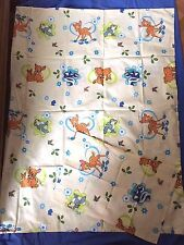 parure de lit bebe  neuve bambi et panpan fleur lit bebe 60 x 120 cm disney