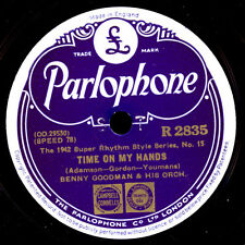 BENNY GOODMAN & HIS ORCHESTRA  Time on my hands / Scarecrow Schellack   X1769