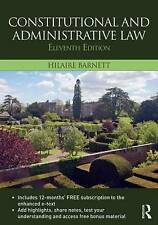 Hilaire Barnett's Paperback Book 11th Ed - Constitutional & Administrative Law