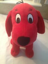 "CLIFFORD THE BIG RED DOG Plush 13"" In Seated Position Kohls Cares - FREE SHIP"