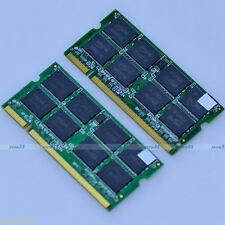 KIT 2GB 2 x 1GB PC2700 333mhz SODIMM DDR 333 Mhz 200pin DDR1 Laptop Memory RAM