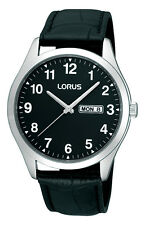 Lorus Gents Leather Strap Watch RJ641AX9 RRP £34.99 Our Price £27.95