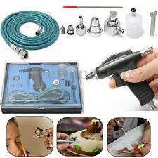 Airbrush Air Brush Spray Gun 0.3mm/0.5mm 20cc Wrench Hose Craft Cake Art Kit