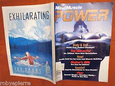 Rivista bodybuilding magazine MIND & MUSCLE power mind&muscle april 2000 vendo