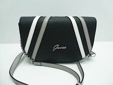 GUESS Woman's XBody Messenger Bag *Black/White/Grey Snake Print *Shoulder Purse
