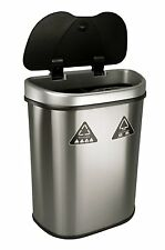 Kitchen Motion Sensor Trash Can Touchless Stainless Steel 21 Gallon Garbage Bin