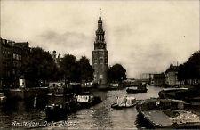 Amsterdam Niederlande Nederland Holland ~1930 Oude Schans New Kanal Wasserstraße