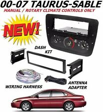 00 01 02 03 04 05 06 07 FORD TAURUS MERCURY SABLE CD CAR RADIO STEREO DASH KIT