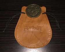 SDCC 2013 THE HOBBIT DESOLATION OF SMAUG BRASS COIN AND POUCH EXCLUSIVE !!!