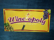 WINE-OPOLY -  MONOPOLY BOARD GAME - 2009 (FACTORY SEALED) - LATE FOR THE SKY