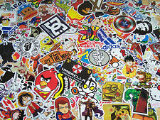 lot of 100 stickers skate skateboard surf guitar car luggage vans DC @USA SELLER