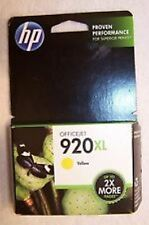 HP #920XL Yellow Ink Cartridge CD974AN GENUINE NEW