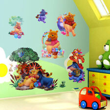 Winnie The Pooh Tiger Friends Art Wall Stickers Decals Kids Room Decor Removable