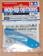 Tamiya 53682 Aluminum Bumper Stopper (TT01, TGS) (TT-01/TT01D/TT01E/TT02/TGSR)