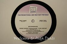 "Brownmark,  Brang Bang (VG) LP 12"" Promo"