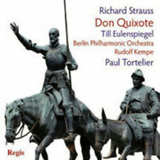 CD STRAUSS DON QUIXOTE PAUL TORTELIER TILL EULENSPIEGEL RUDOLF KEMPE