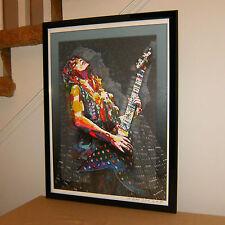 Randy Rhoads, Ozzy Osbourne, Lead Guitar, Guitarist Metal, 18x24 POSTER w/COA2