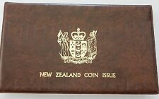 1981 New Zealand 7 Coin Proof Set ~ Contains $1 Sterling Silver Royal Visit Coin
