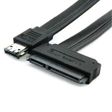 Neu Dual Power eSATA USB 12V 5V Combo a 22pin SATA USB Cable de disco duro