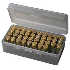MTM Case-Gard Original Handgun Ammunition Storage Box 50 Round PS-3-41 Smoke