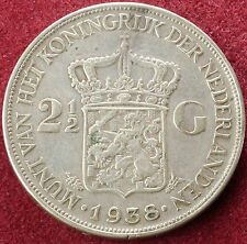Netherlands 2 and a Half Gulden 1938 (C0601)