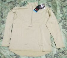 NEW US ARMY ECWCS ADS POLARTEC POWER DRY WAFFLE/GRID FLEECE SHIRT. LARGE-REGULAR