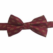 Pi Kappa Alpha Pike New Logo Letter Bow Tie (Pre-Tied) - Brand New Product!
