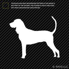 (2x) American Black and Tan Coonhound Sticker Die Cut Decal Vinyl dog canine pet