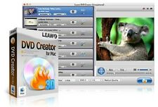 Leawo DVD Creator FOR MAC {AVI MP4 WMV MKV HD to DVD Burner Converter 1080p NEW}