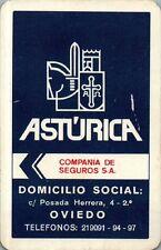 CALENDARIO FOURNIER AÑO 1978 ASTÚRICA
