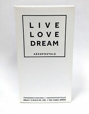 Aeropostale LIVE LOVE DREAM Perfume 2.0 oz NIB FREE SHIPPING new collection