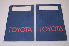 TOYOTA LAND CRUISER FJ40 FJ45 BJ40 BJ42 HJ45 MUD FLAPS MUDFLAPS PAIR NEW