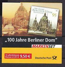 BRD 2005 gestempelt Markenheft  MiNr. 57    100 Jahre Berliner Dom