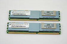 HP 8GB KIT (2X4GB) Bastoni 2Rx4 PC2-5300F DDR2 Memory RAM Server 416473-001
